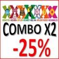 Combo X2 Parks -25%