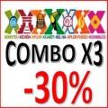 Combo X3 Parks -30%