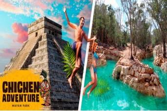Tour Chichen Itza 3x1 Adventure