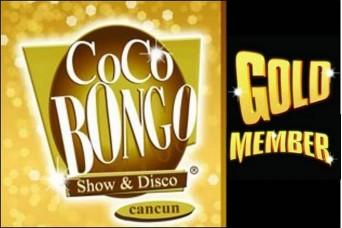 COCO BONGO Cancun Gold Member
