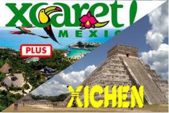 Combo Tour Xcaret Plus + Tour Xichen Clasic