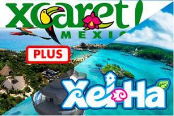 Combo Tour Xcaret Plus + Tour XelHa